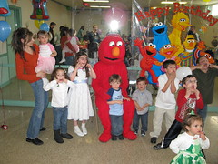 Elmo and the Kids