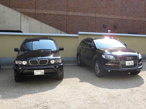 BMW X5& Audi Q7
