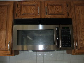 New Appliances - Microwave