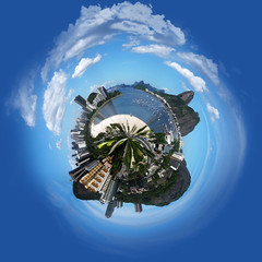 Planeta Po de Aucar. (S) Tags: world blue red brazil white green blanco rio yellow azul brasil riodejaneiro de photo rojo flickr janeiro sebastian pics negro picture pic mini amarillo planet aucar po rojas planeta eugenio muoz zeva photoof