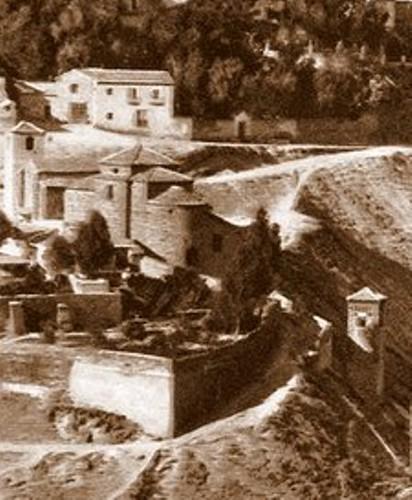 Iglesia de San Lucas a principios del siglo XX.