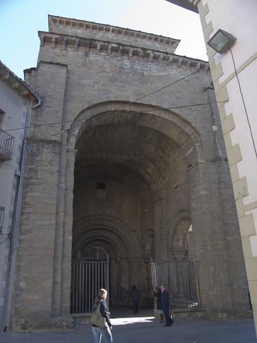 Atrio de la Catedral de Jaca