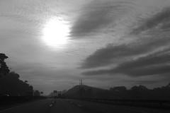 (Gilberto Mellace) Tags: road sunset sky bw favorite cloud sun white black sol branco clouds canon photography photo highway foto image horizon picture pic pb cu preto prdosol estrada photograph nuvens fotografia nuvem favorita horizonte imagem favorited rodovia pr favoritada