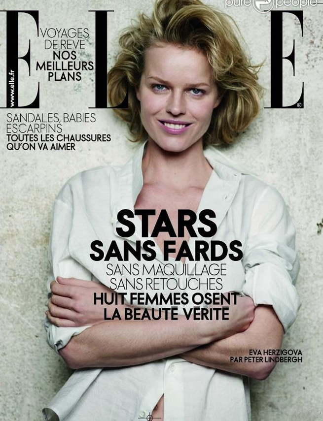 Eva Herzigova - Elle France 2009