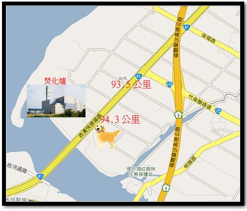 竹南收容所地圖