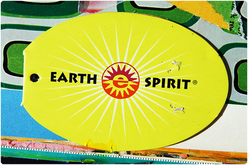 Earth Spirit shoe label glued in too (Copyright Hanna Andersson)
