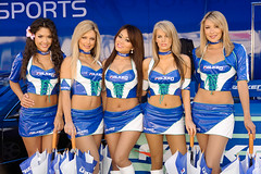 2009 Falken Umbrella Girls (jchennav) Tags: ca usa geotagged longbeach falken formuladrift
