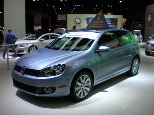 New York Auto Show, 2009 - 2010 Volkswagen Golf by smaginnis11565.