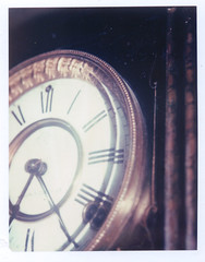 Polaroid Transfer Clock 01 orig