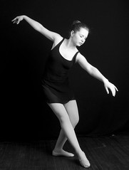 BW-040 (selfhumor) Tags: red ballet girl rose pose hair dance jump shoes toes hand dress legs spin 15 dancer tights grace teen leap slipper slippers poise leotard frsh