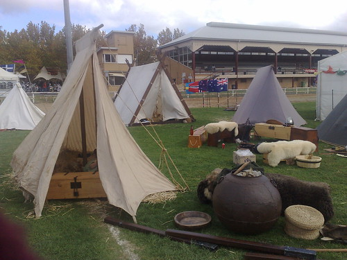 Huscarls encampment
