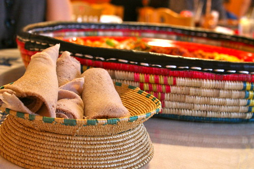 Adorable Basket of Injera