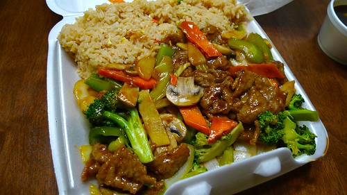 "Hunan's ""Beef & Vegetables"""