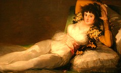 La Maja Vestida (the Dressed Woman) by Goya, in the Prado Museum, Madrid