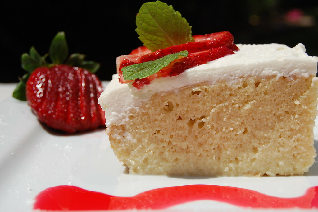Tres Leches Cake - Pastel Tres Leches
