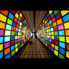 science express (Paul Petruck) Tags: colors train germany spectrum stripes jena 1000views seenintheinterestingnessarchives scienceexpress