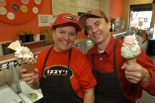 Lara Hammel & Jeff Sommers, Owners of Izzy's Ice Cream