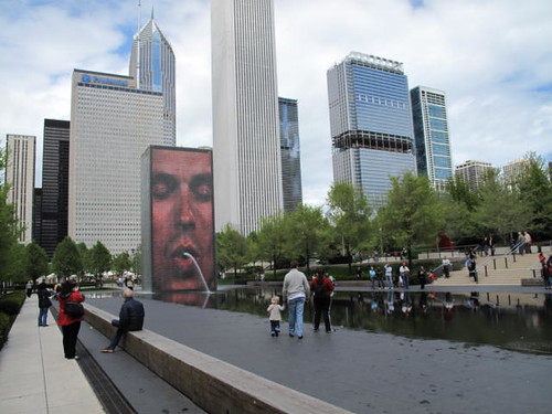 Millenium Park in Chicago