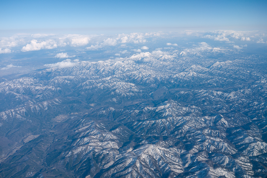 the north area of Yubari mountainous region