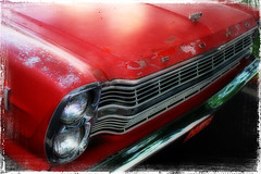 136:365 Red (Bamagirl7) Tags: red ford fordfairlane project365 doubleheadlights 2009yip 365community