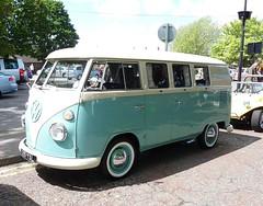 VW Volkswagen Bus camper 1964 ( Andrew) Tags: auto old classic car photo voiture coche bil   samochd