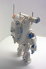 ALA-N Back Left (Brent Waller) Tags: alan robot lego space rover astronaut cosmonaut mecha bot mech