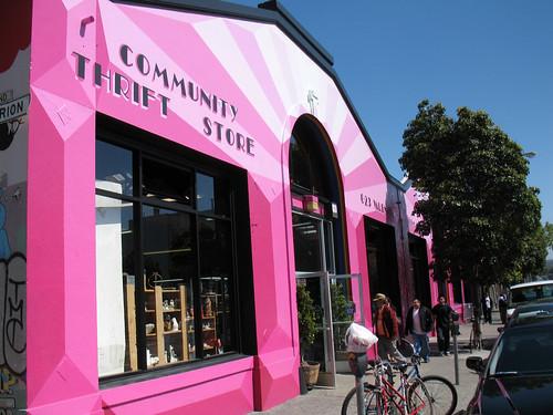 Community Thrift Store, Valencia Street