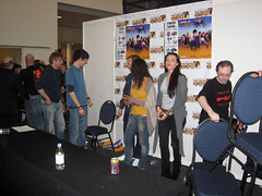 Merlin Signing at MCM London Expo 25 (TravelShorts) Tags: london talk merlin pr tvshow signing colinmorgan bradleyjames katiemcgrath mcmlondonexpo may2009 johnnycapps julianmurphy angelcoulby