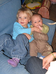 Kids in Chair