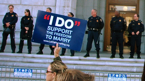 Prop 8 decision protest