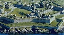Charles fort KInsale from the air by you.