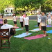 Yoga in the Park - 5/28/2009