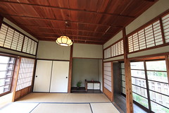 Japanese traditional style SAMURAI house / ( ) (TANAKA Juuyoh ()) Tags: old house architecture japanese design high ancient interior room traditional style hires tatami resolution  5d hi samurai sliding residence res partition  markii                canonef14mmf28liiusm