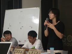 台灣環境資訊協會常務理事許心欣