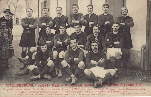 Stade Toulousain 1912 by Frederic Humbert (www.rugby-pioneers.com).