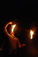 Fire Eating 3 (mysterybaer) Tags: party house hot mouth paper fire photography bay origami open eating east cranes study studios 1000 breathing flamable