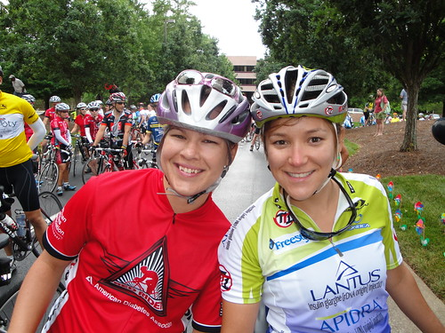 At The Start - Courtney and Lolo