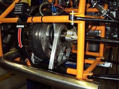 DSC00344 (chuckoutrearseats) Tags: university sae brake arrow trout carbon fiber tubing ex