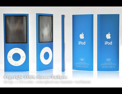 My New iPod Nano Chromatic ..[Blue