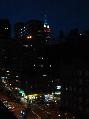 Empire State Building - from our rooftop