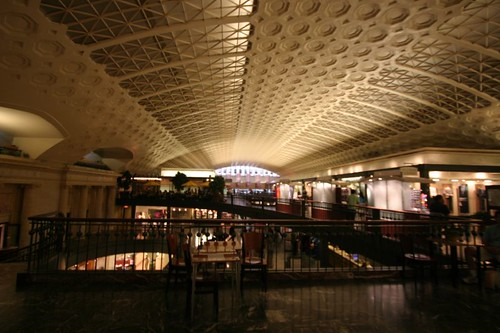 Inside the Union Station...