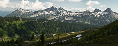 Cascades in Late Afternoon (absencesix) Tags: sky panorama usa snow mountains nature weather clouds walking iso200 washington unitedstates hiking events july noflash mountrainiernationalpark northamerica wa 2009 ef2470mmf28lusm hikes locations cascaderange locale verticalstitch manualmode canoneos30d 62mm camera:make=canon geo:state=wa exif:make=canon exif:iso_speed=200 activityaction hasmetastyletag naturallocale exif:focal_length=62mm 1500secatf80 selfrating5stars july252009 mountrainierwa07252009 geo:countrys=usa exif:lens=ef2470mmf28lusm exif:model=canoneos30d camera:model=canoneos30d exif:aperture=80 subjectdistanceunknown geo:city=mountrainiernationalpark mountrainiernationalparkwausa geo:lon=121736094117 geo:lat=46794109464 464739n1214410w