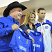 Garth Brooks, Trisha Yearwood and Petr Cech