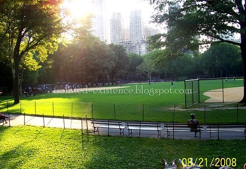 Baseball Central Park
