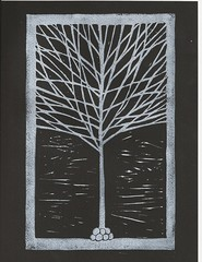One White Tree - Black 1