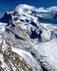 Gornergrat Glacier , Switzerland (moonjazz) Tags: world trip travel winter white snow alps ice clouds landscape photography switzerland earth swiss rocky glacier gornergrat geology sublime pennine climate 5photosaday