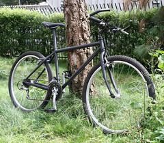 Specialized Rockhopper (pcnotpc) Tags: sf sanfrancisco city mountain black bike bicycle mtb edwin rockhopper matte specialized