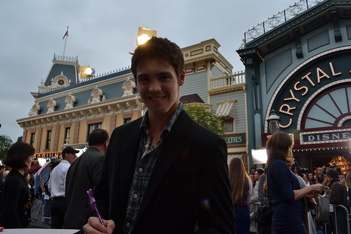 Steven McQueen on the Pirates of the Caribbean: On Stranger Tides Black Carpet