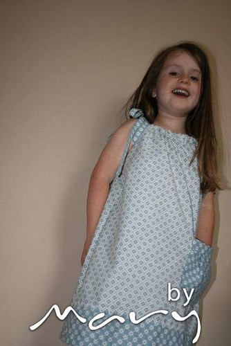 Pillowcase dresses from duvet cover