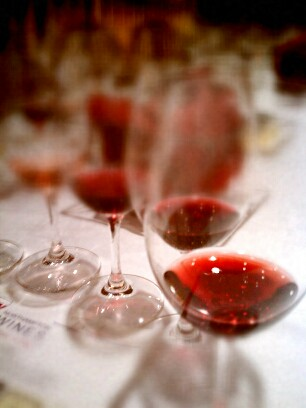 Wine Glass Tilt Shift